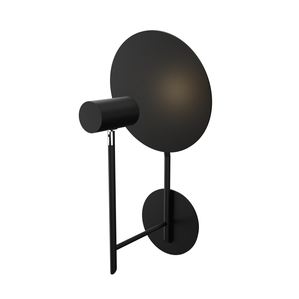 Wall Lamp Accord Dot 4128 - Dot Line Accord Lighting | 02. Matte Black