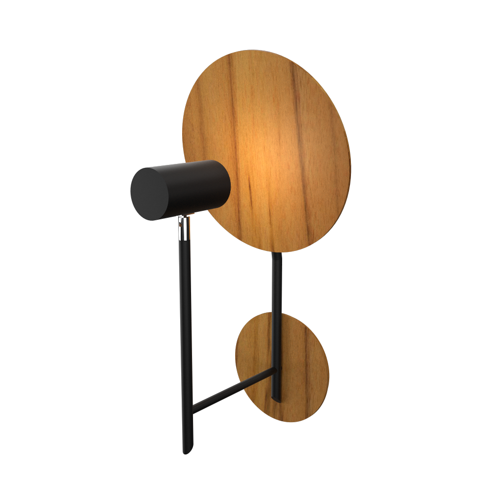 Wall Lamp Accord Dot 4128 - Dot Line Accord Lighting | 12. Teak