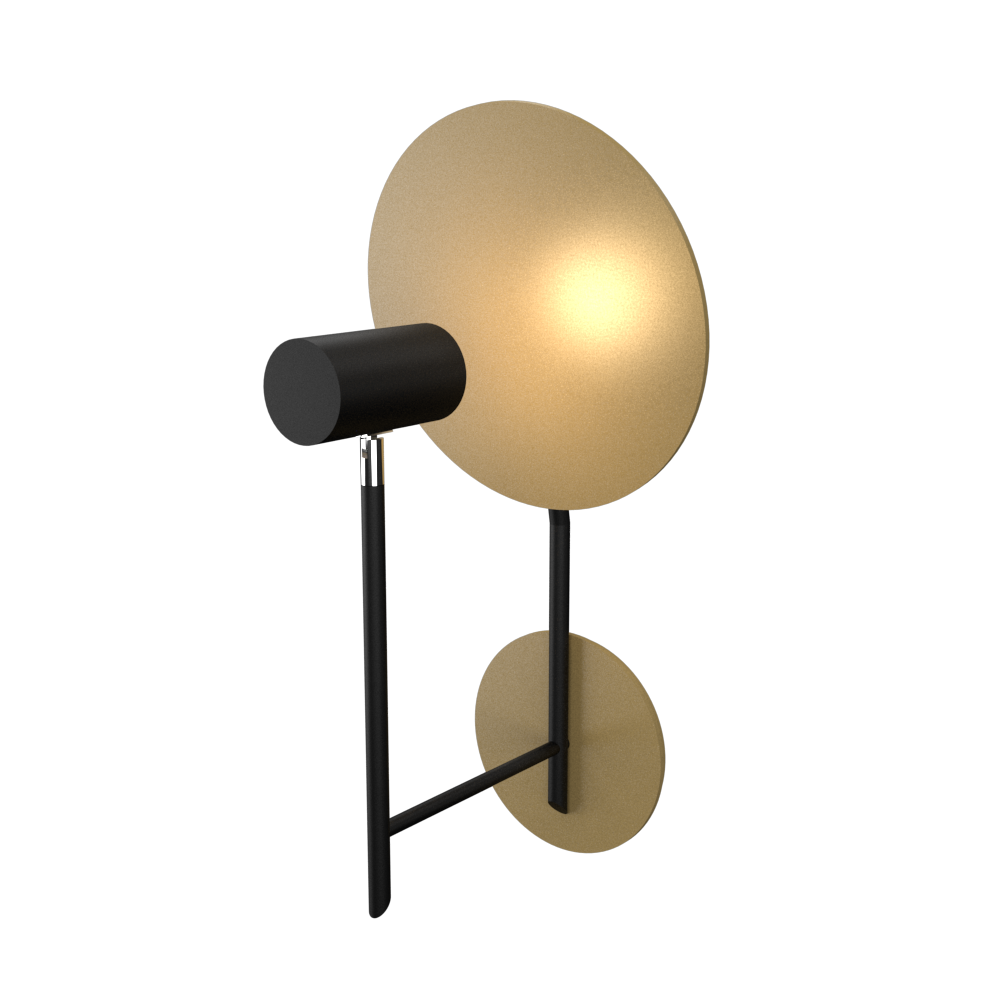 Wall Lamp Accord Dot 4128 - Dot Line Accord Lighting | 27. Gold