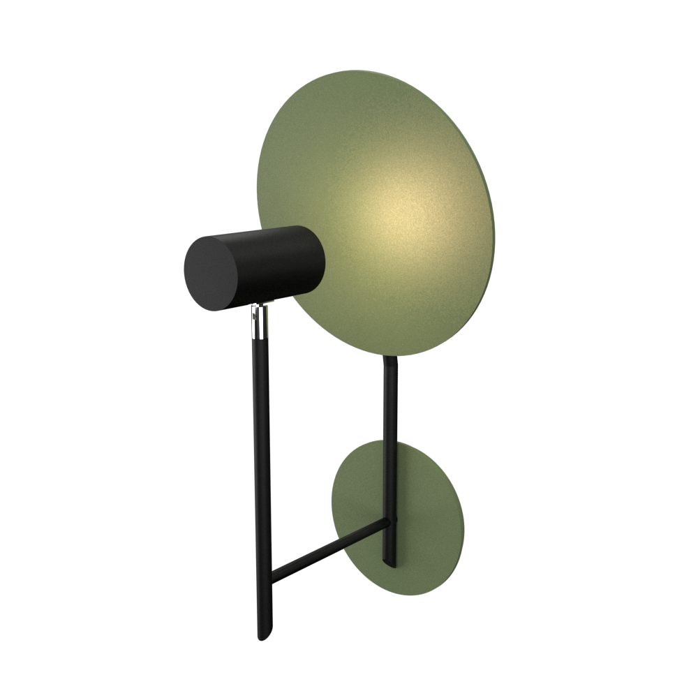 Wall Lamp Accord Dot 4128 - Dot Line Accord Lighting | 30. Olive Green