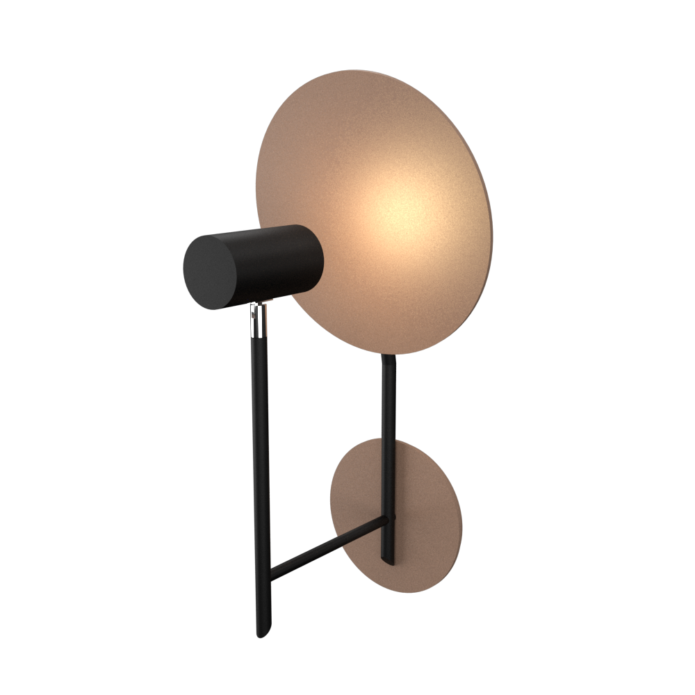 Wall Lamp Accord Dot 4128 - Dot Line Accord Lighting | 33. Bronze