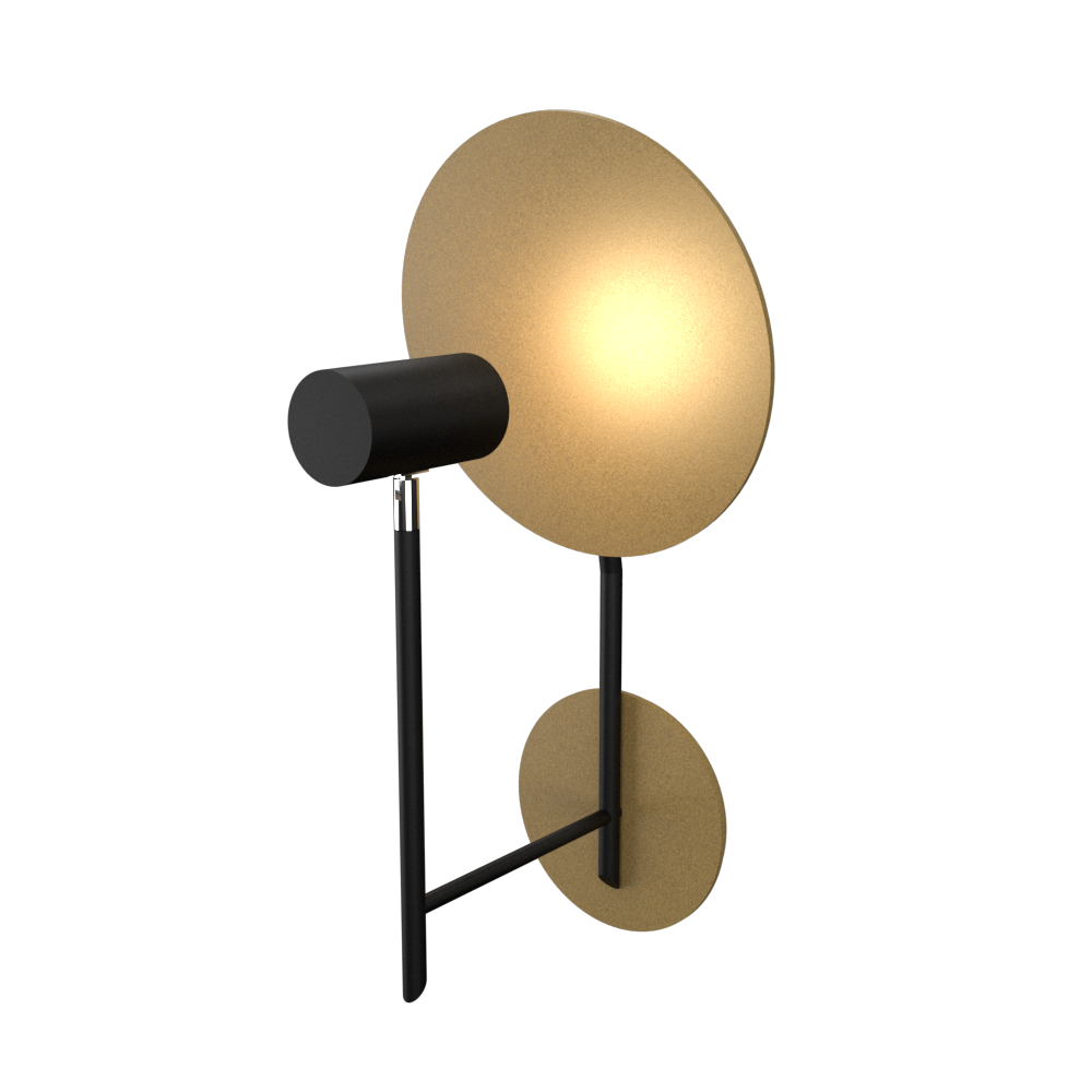 Wall Lamp Accord Dot 4128 - Dot Line Accord Lighting | Pale Gold