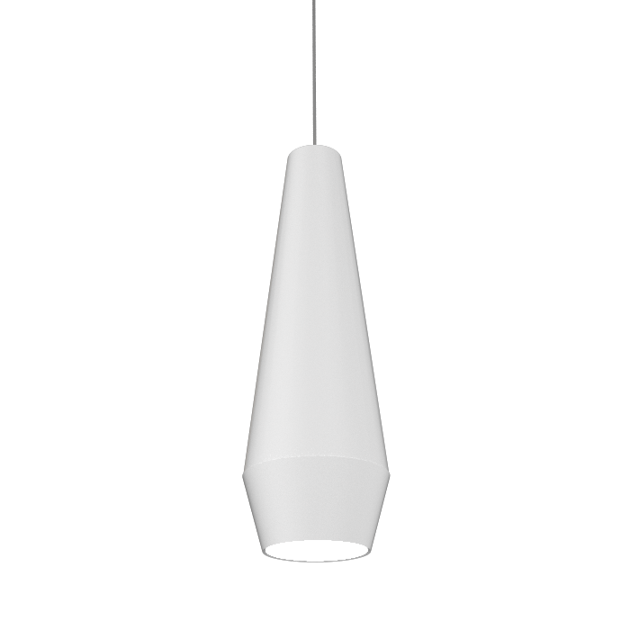 Pendant Lamp Cone Duo 1343 - Orgânica Line Accord Lighting | 07. White