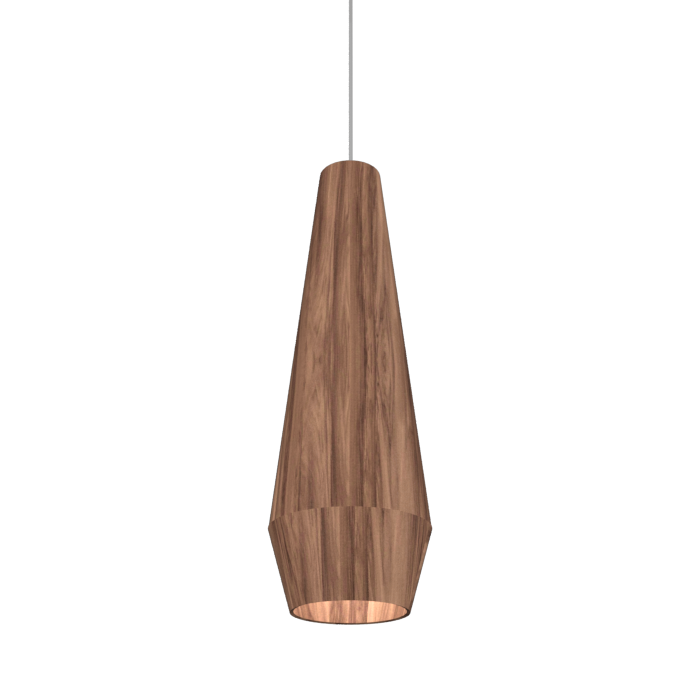Pendant Lamp Cone Duo 1343 - Orgânica Line Accord Lighting | 18. American Walnut
