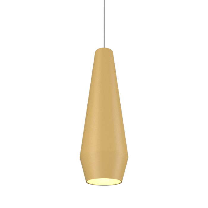 Pendant Lamp Cone Duo 1343 - Orgânica Line Accord Lighting | 27. Gold