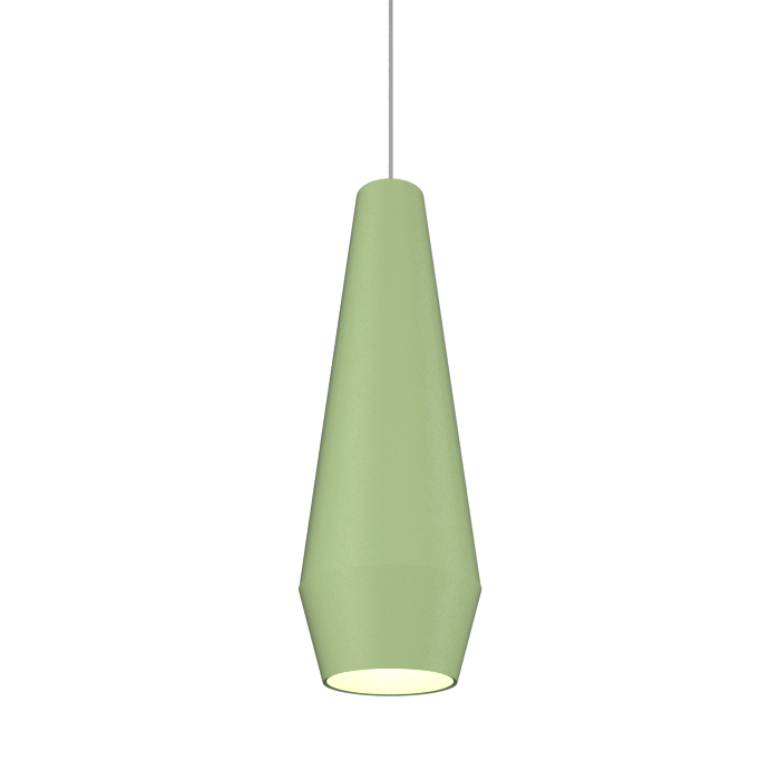 Pendant Lamp Cone Duo 1343 - Orgânica Line Accord Lighting | 30. Olive Green