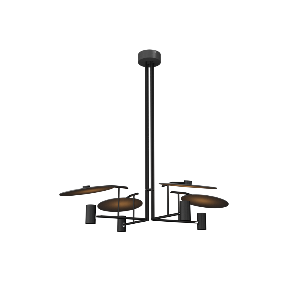 Pendant Lamp Accord Dot 1419 - Dot Line Accord Lighting | 02. Matte Black