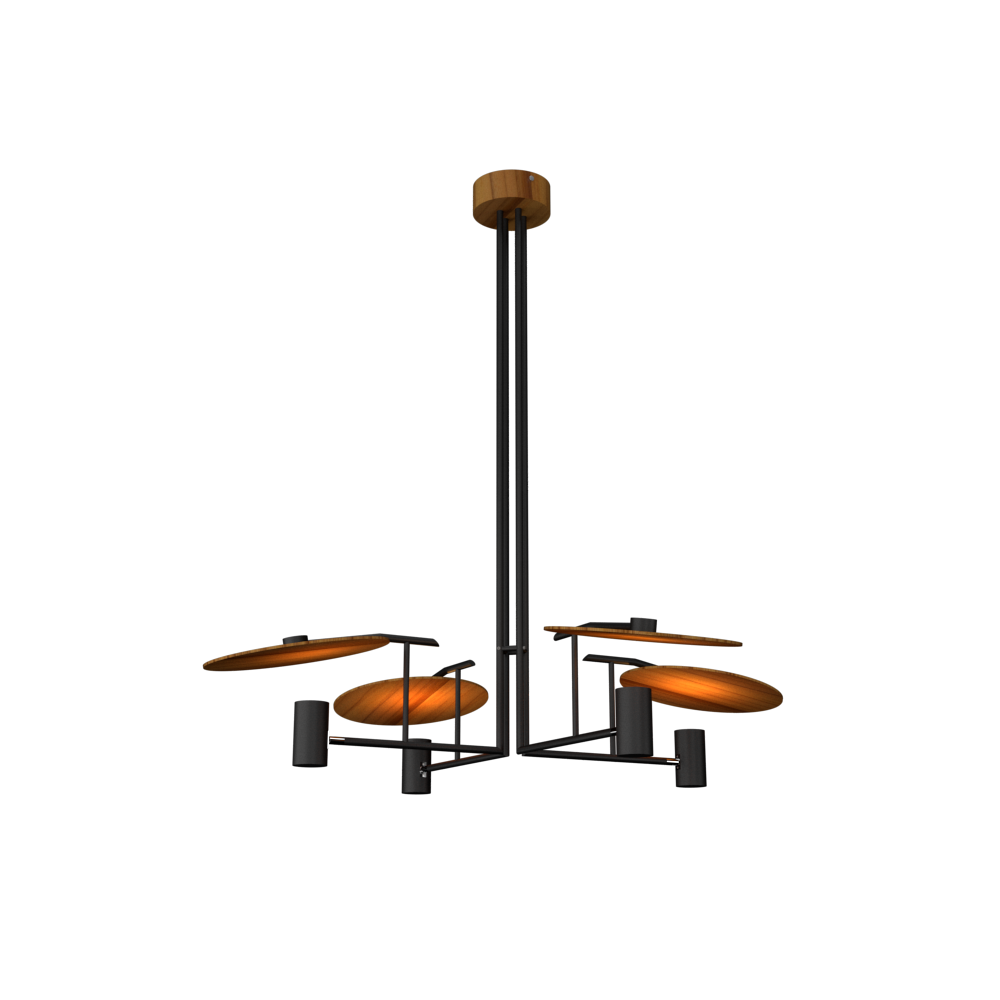 Pendant Lamp Accord Dot 1419 - Dot Line Accord Lighting | 12. Teak
