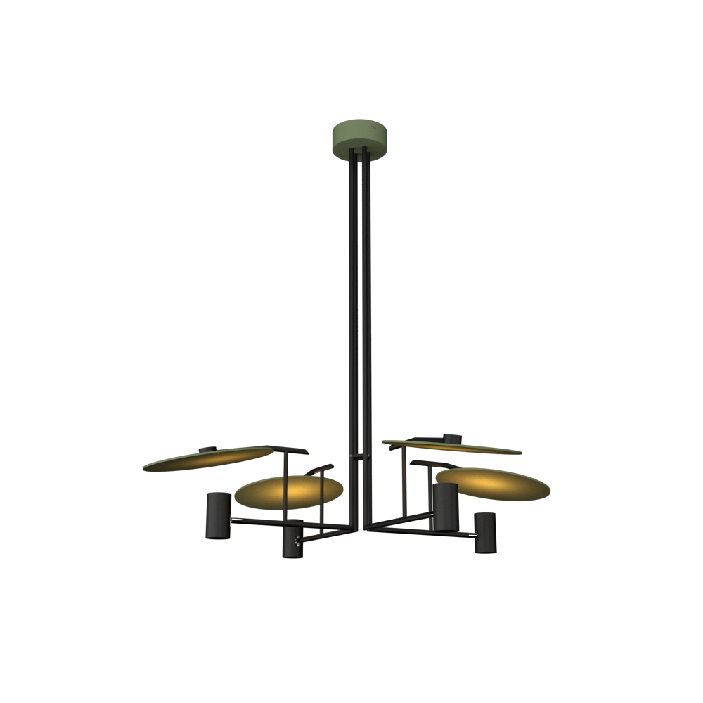 Pendant Lamp Accord Dot 1419 - Dot Line Accord Lighting | 30. Olive Green