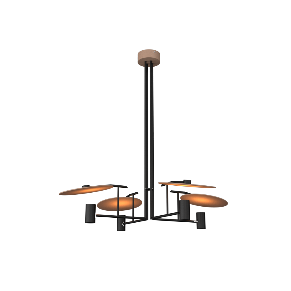 Pendant Lamp Accord Dot 1419 - Dot Line Accord Lighting | 33. Bronze