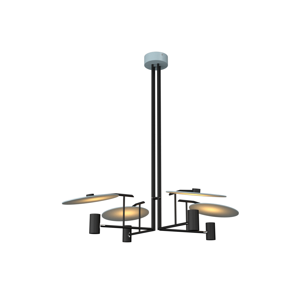 Pendant Lamp Accord Dot 1419 - Dot Line Accord Lighting | Satin Blue