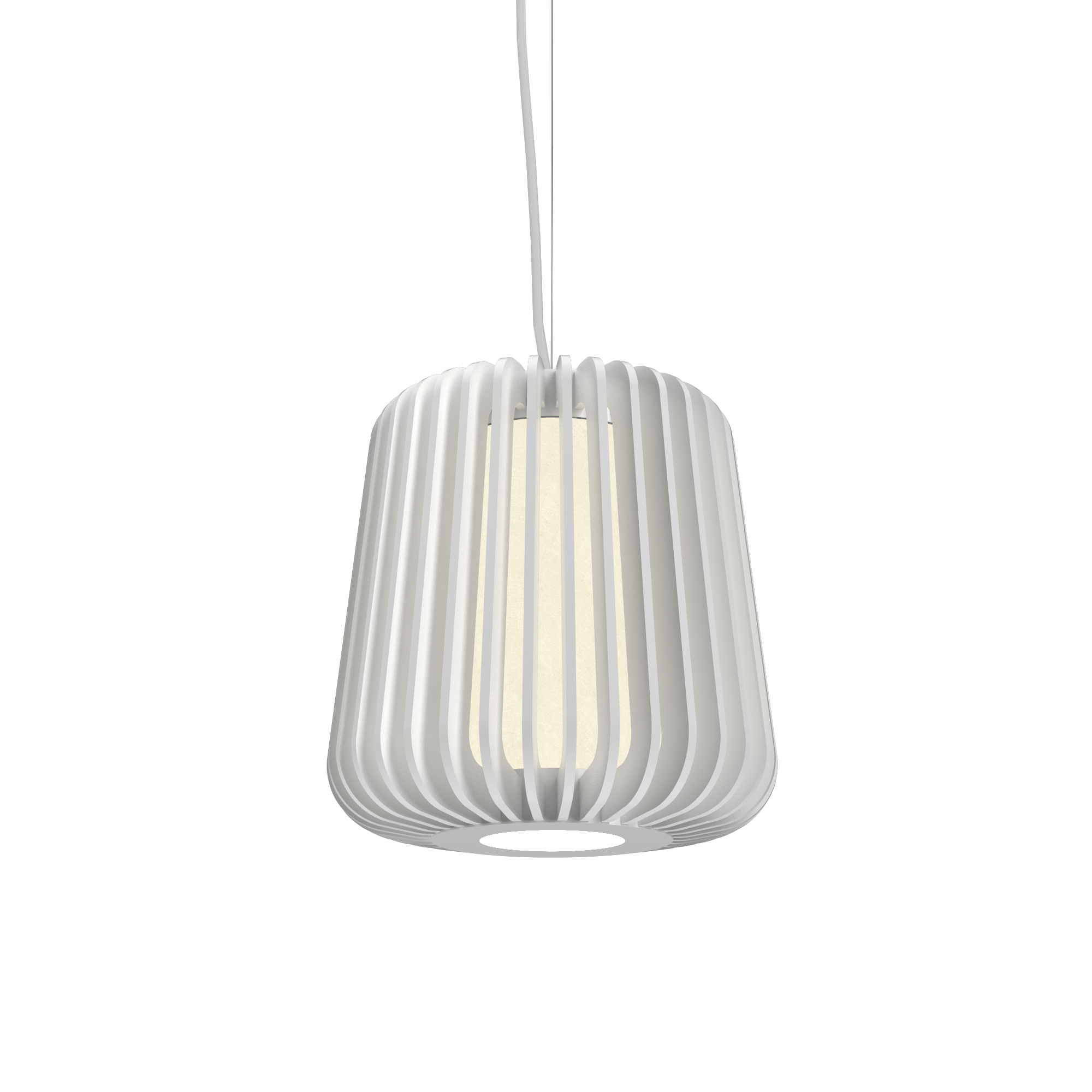 Pendant Lamp Accord Stecche Di Legno 1426 - Stecche Di Legno Line Accord Lighting | 07. White