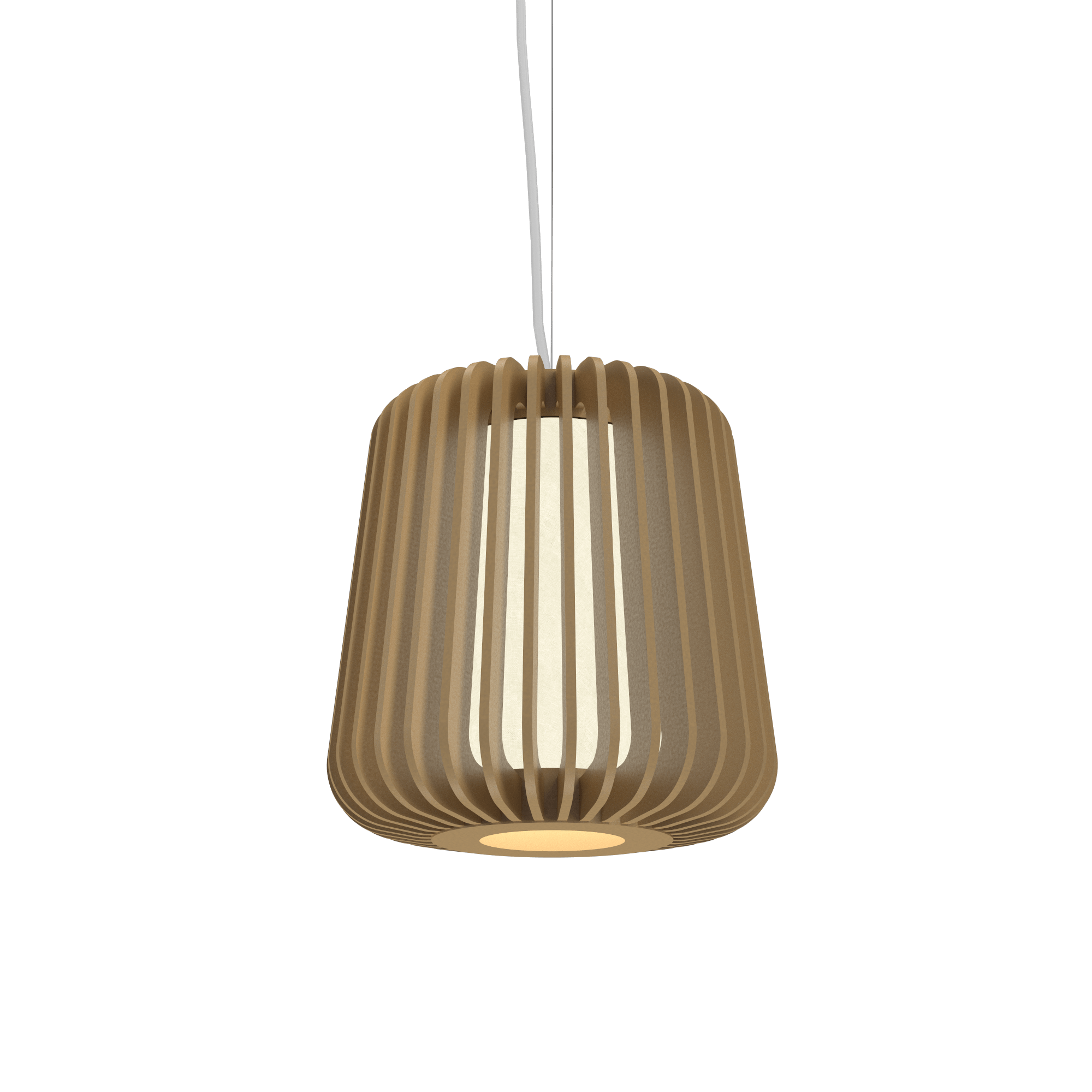 Pendant Lamp Accord Stecche Di Legno 1426 - Stecche Di Legno Line Accord Lighting | 27. Gold