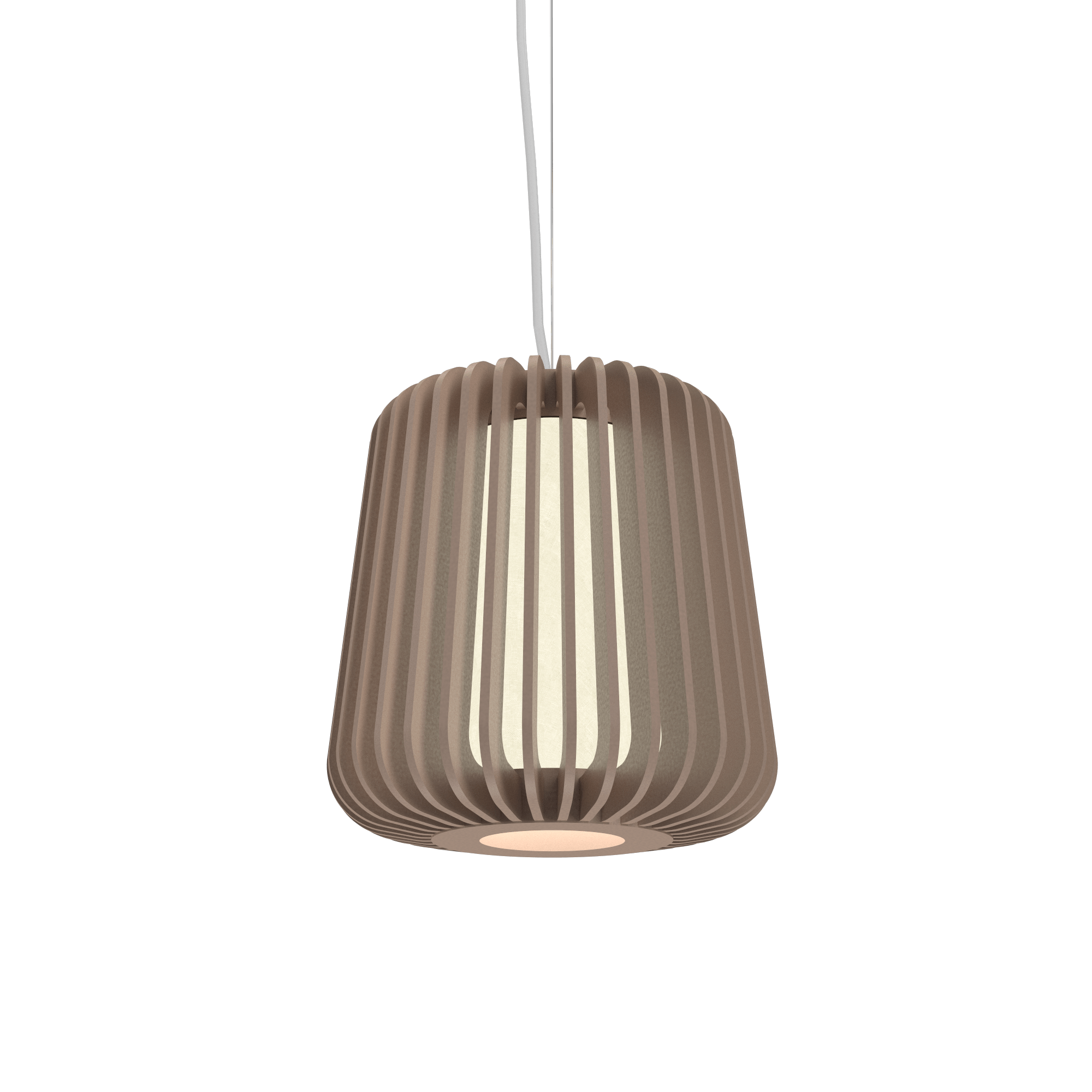 Pendant Lamp Accord Stecche Di Legno 1426 - Stecche Di Legno Line Accord Lighting | 33. Bronze