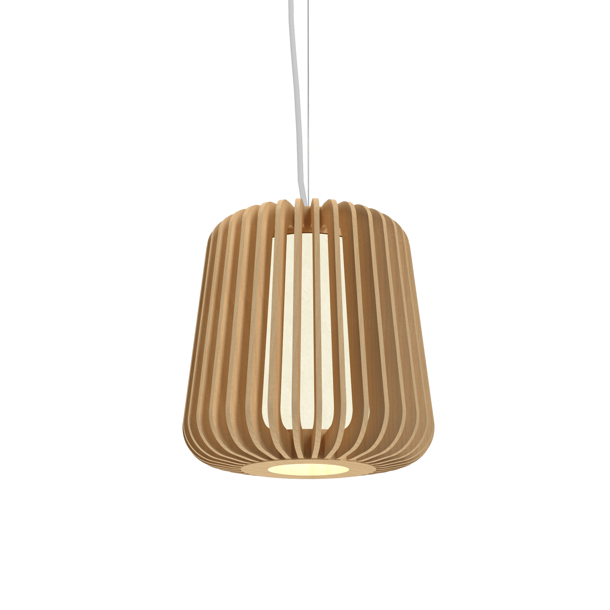 Pendant Lamp Accord Stecche Di Legno 1426 - Stecche Di Legno Line Accord Lighting | 34. Maple