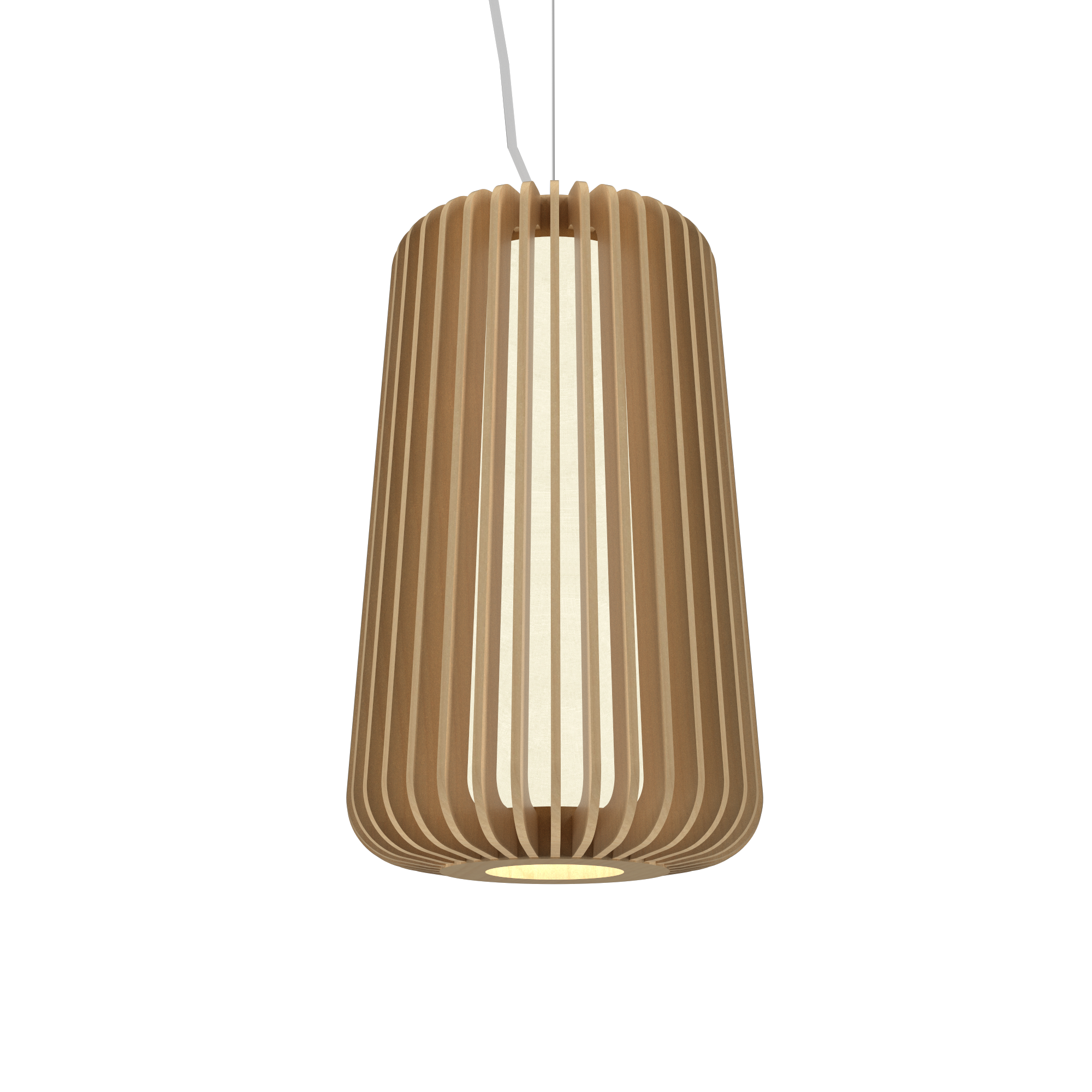 Pendant Lamp Accord Stecche Di Legno 1427 - Stecche Di Legno Line Accord Lighting | 34. Maple
