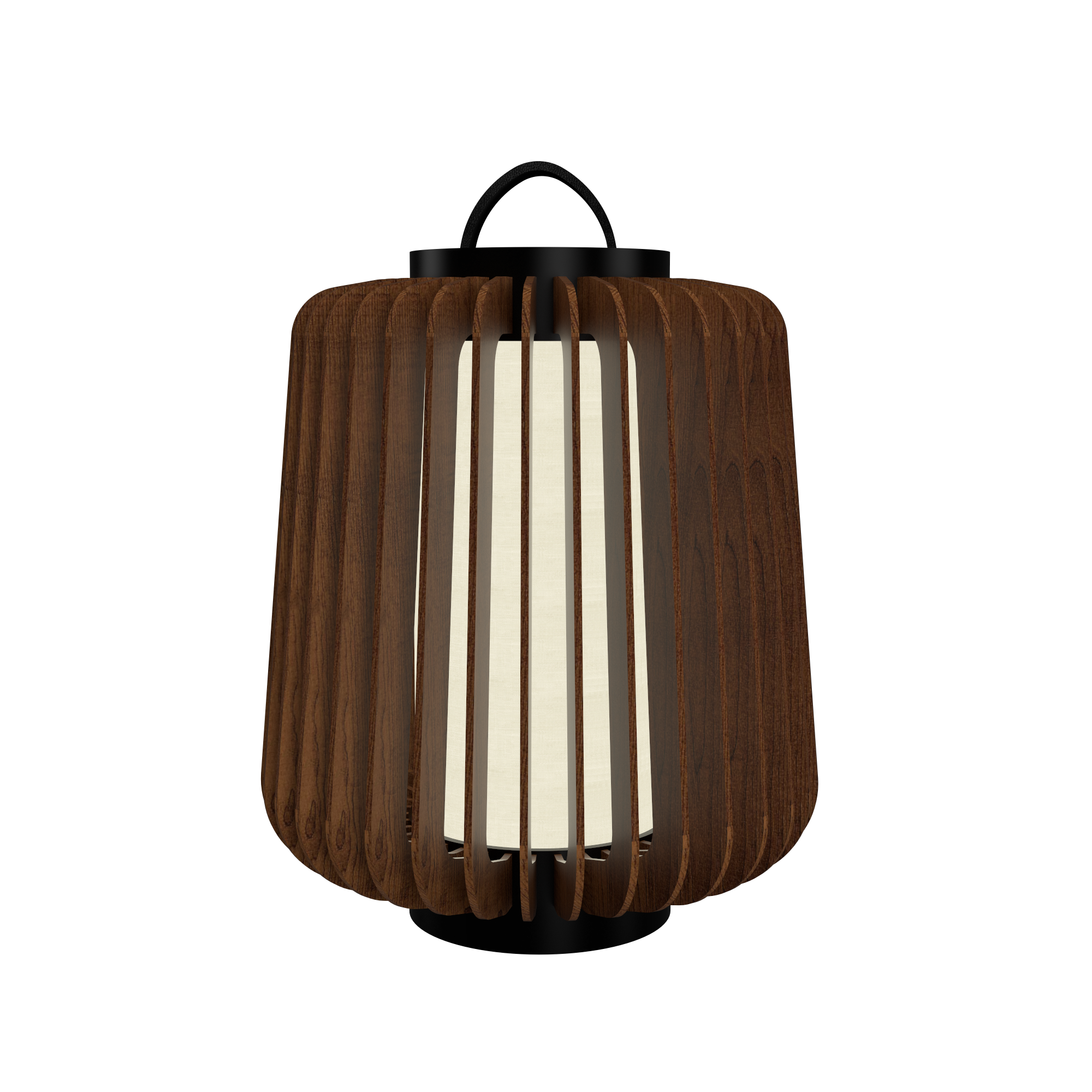 Floor Lamp Accord Stecche Di Legno 3035 - Stecche Di Legno Line Accord Lighting | 06. Imbuia