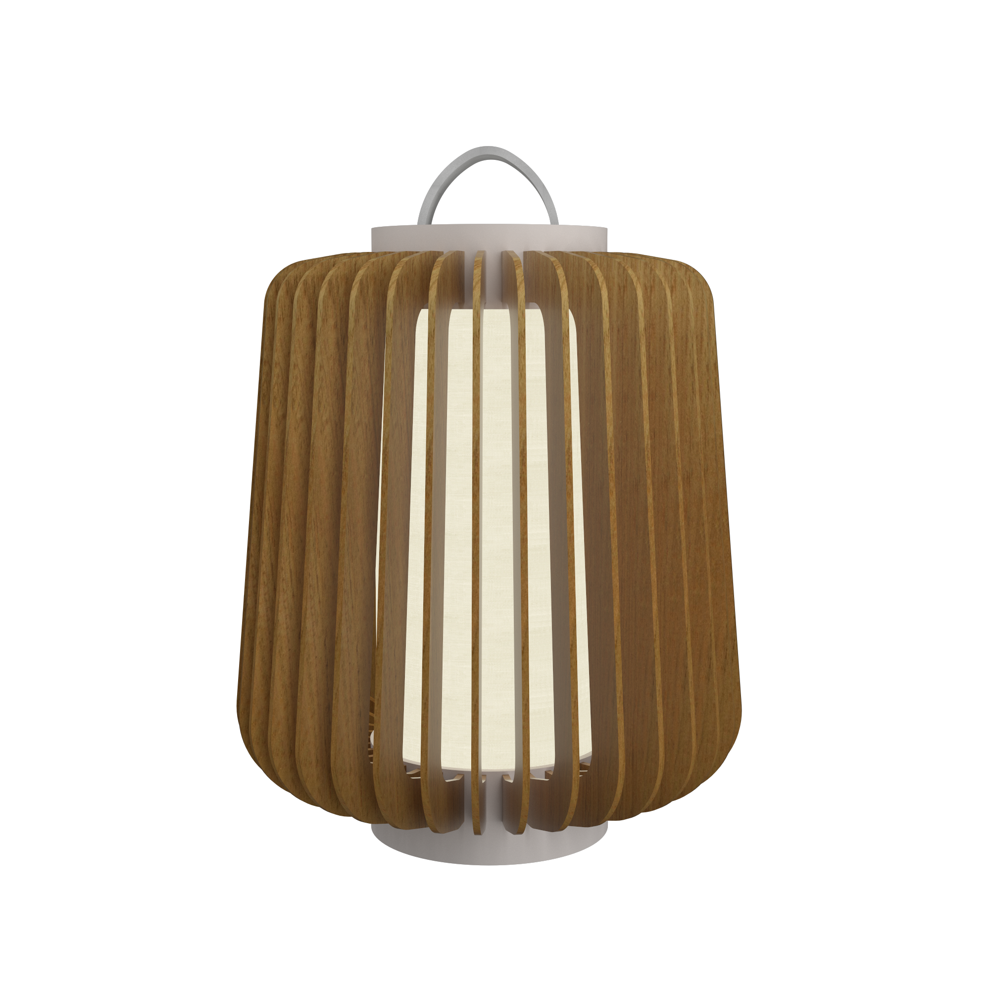 Floor Lamp Accord Stecche Di Legno 3035 - Stecche Di Legno Line Accord Lighting | 09. Louro Freijó