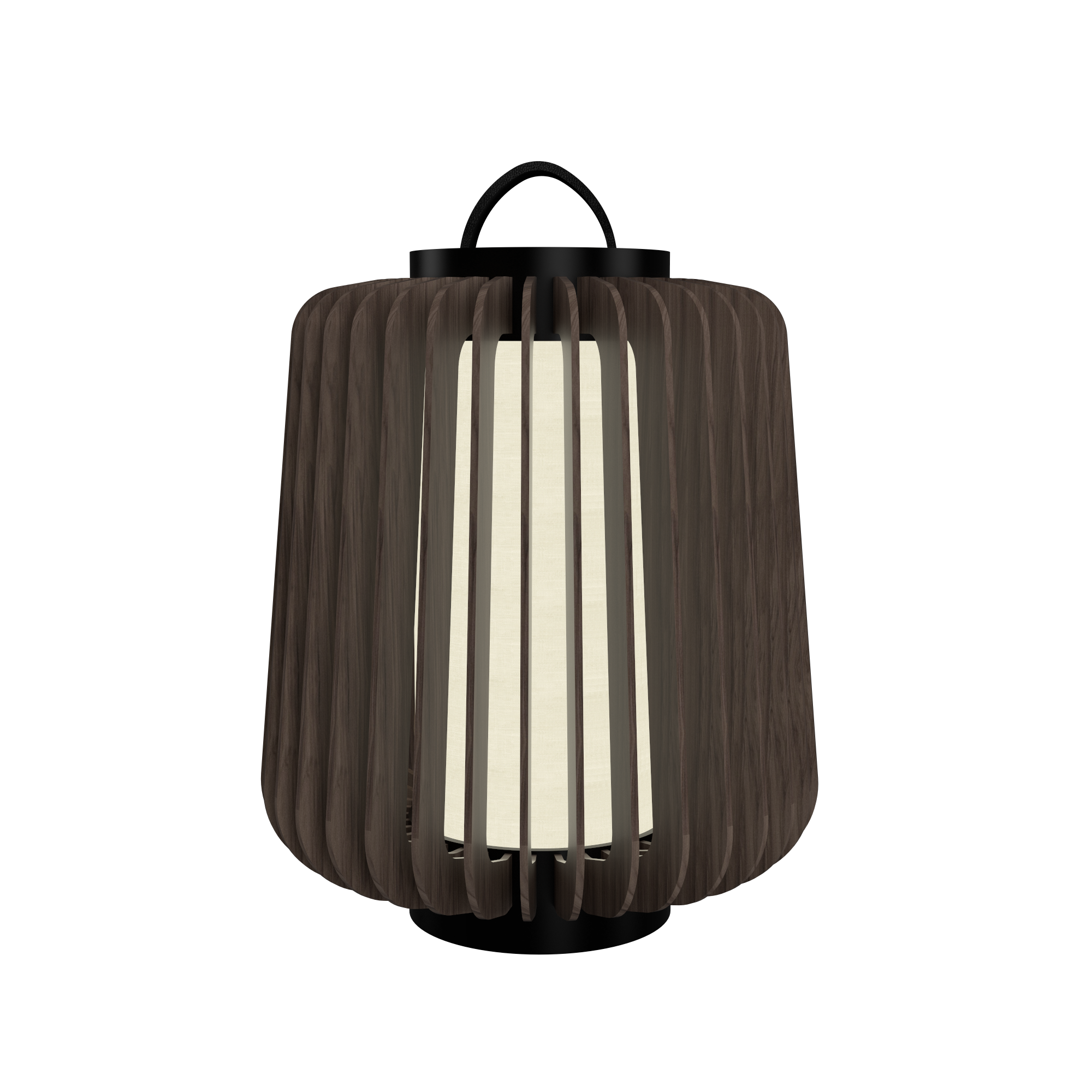 Floor Lamp Accord Stecche Di Legno 3035 - Stecche Di Legno Line Accord Lighting | 18. American Walnut