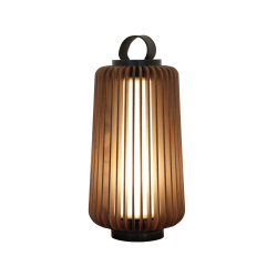 Table Lamp Accord Stecche Di Legno 7060 - Stecche Di Legno Line Accord Lighting