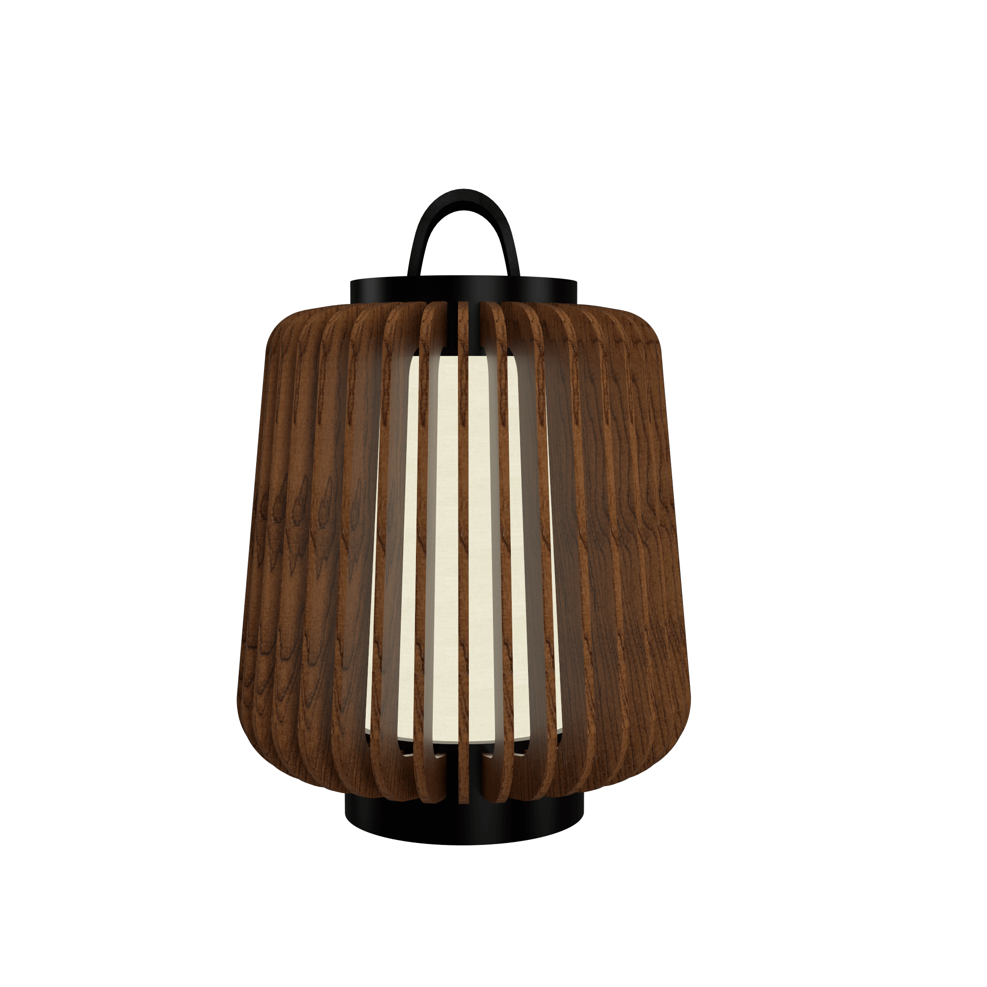 Table Lamp Accord Stecche Di Legno 7059 - Stecche Di Legno Line Accord Lighting | 06. Imbuia
