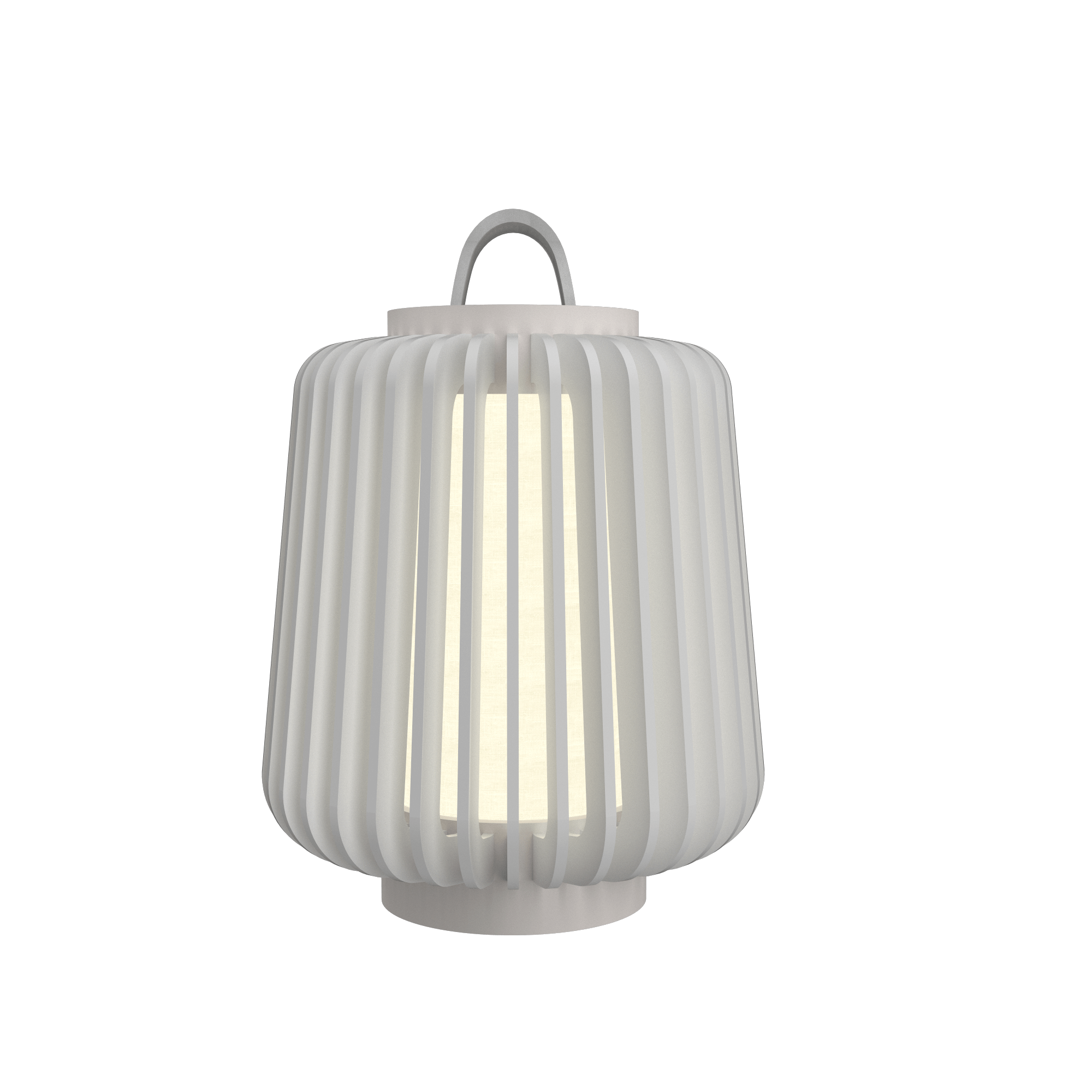 Table Lamp Accord Stecche Di Legno 7059 - Stecche Di Legno Line Accord Lighting | 07. White
