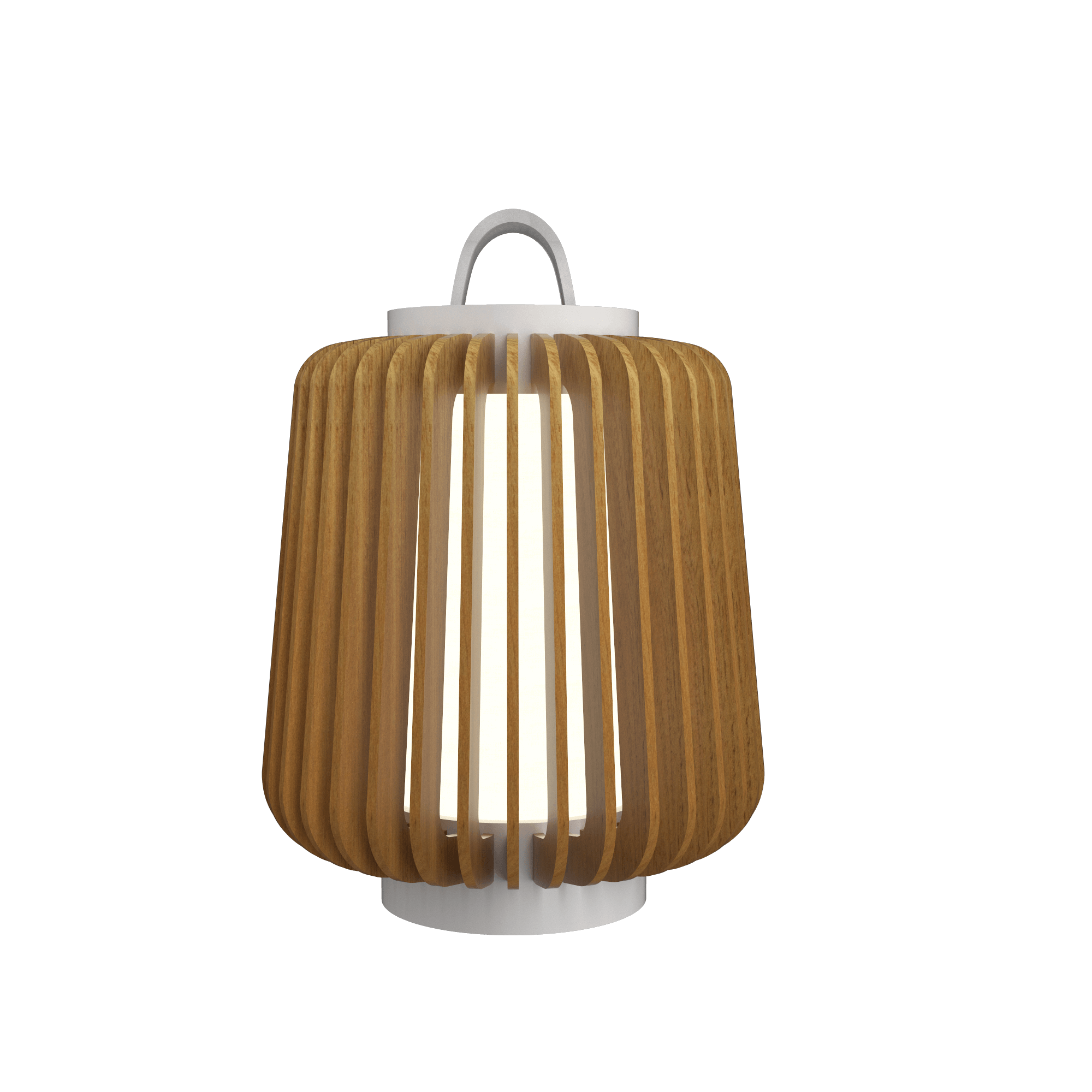 Table Lamp Accord Stecche Di Legno 7059 - Stecche Di Legno Line Accord Lighting | 09. Louro Freijó