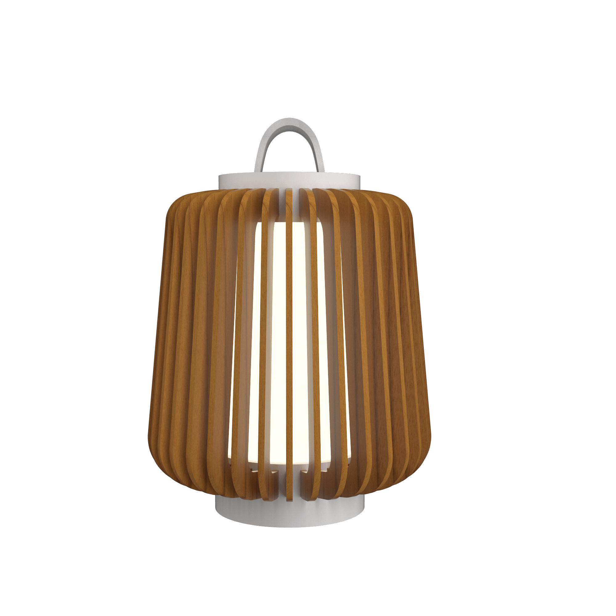 Table Lamp Accord Stecche Di Legno 7059 - Stecche Di Legno Line Accord Lighting | 12. Teak
