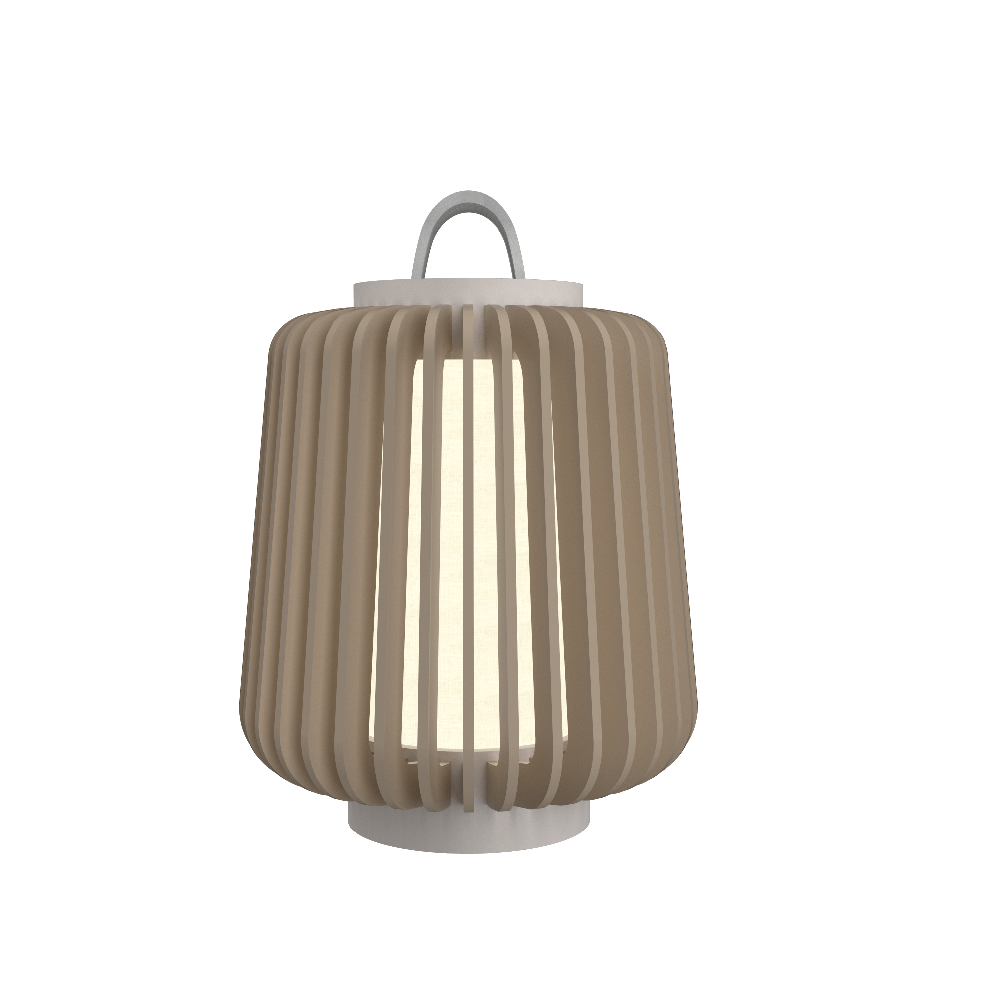 Table Lamp Accord Stecche Di Legno 7059 - Stecche Di Legno Line Accord Lighting | 15. Cappuccino