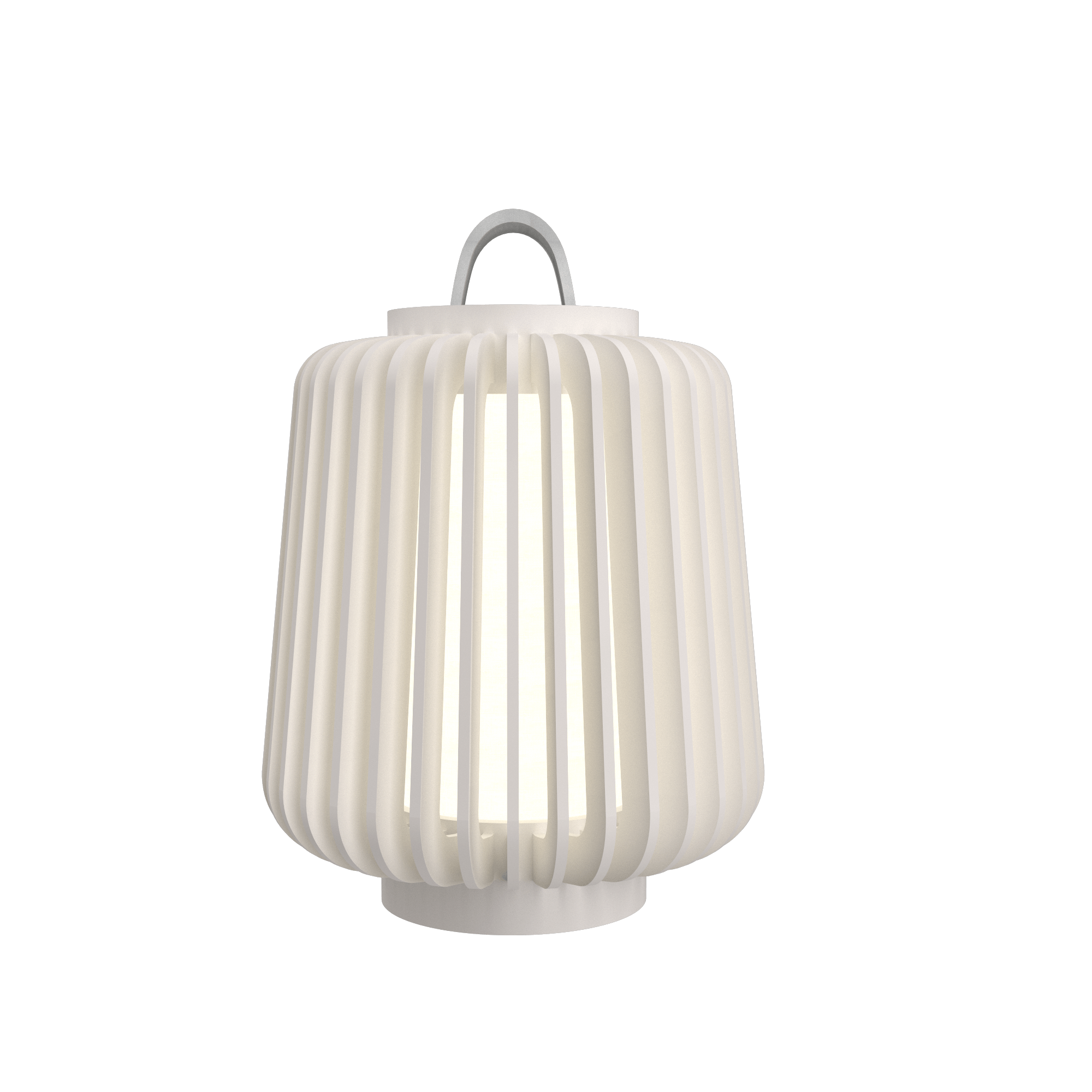 Table Lamp Accord Stecche Di Legno 7059 - Stecche Di Legno Line Accord Lighting | 25. Iredescent White
