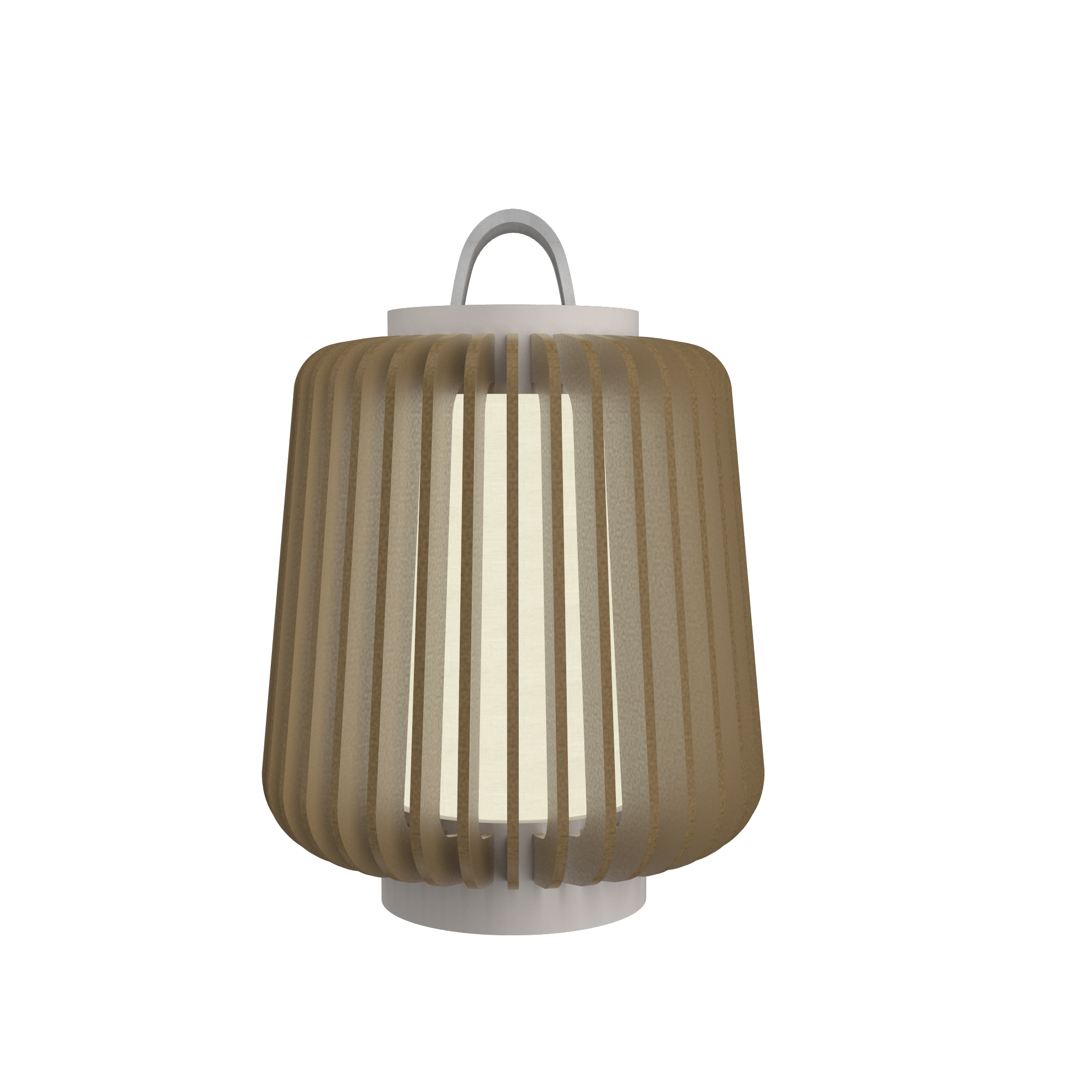 Table Lamp Accord Stecche Di Legno 7059 - Stecche Di Legno Line Accord Lighting | 27. Gold