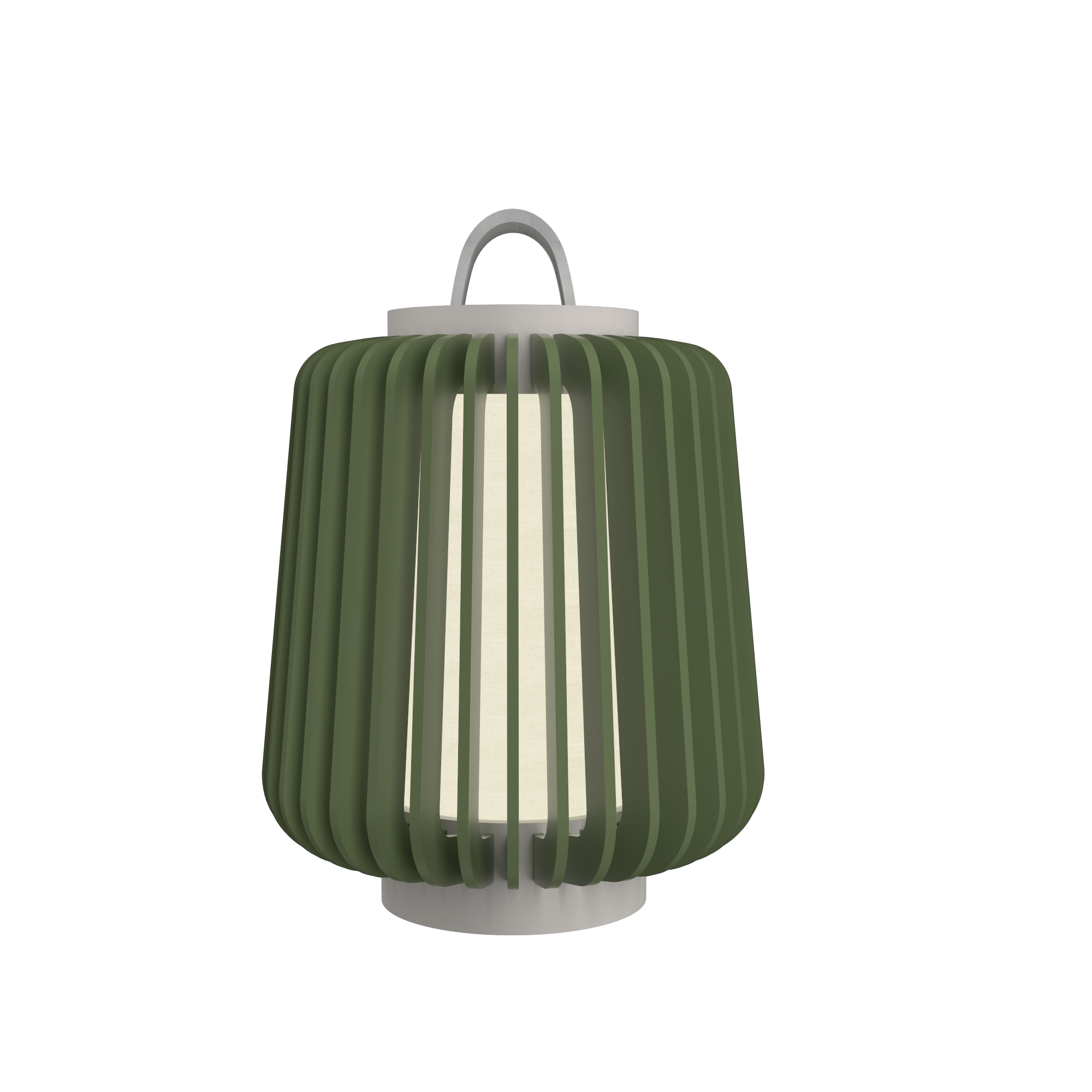 Table Lamp Accord Stecche Di Legno 7059 - Stecche Di Legno Line Accord Lighting | 30. Olive Green