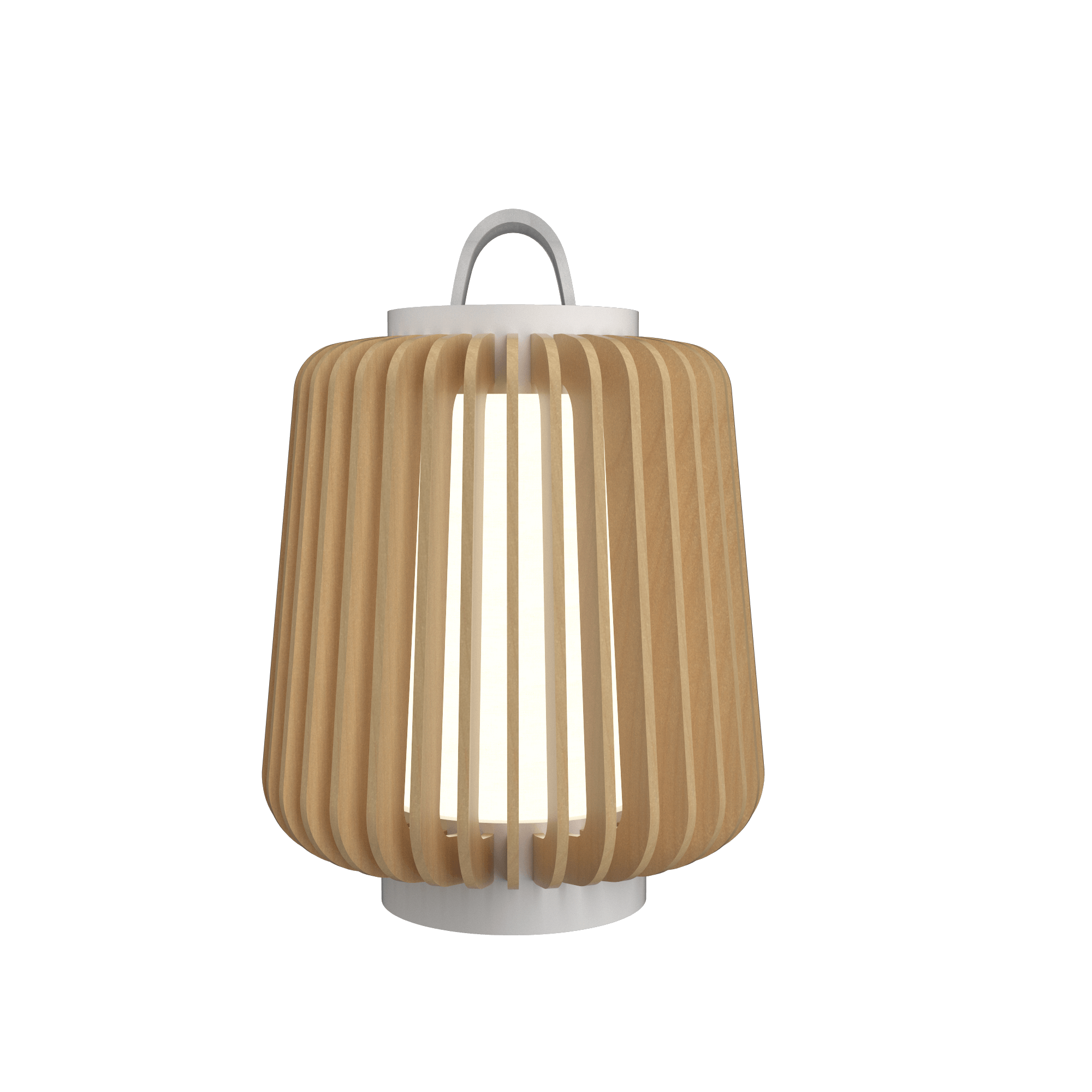 Table Lamp Accord Stecche Di Legno 7059 - Stecche Di Legno Line Accord Lighting | 34. Maple