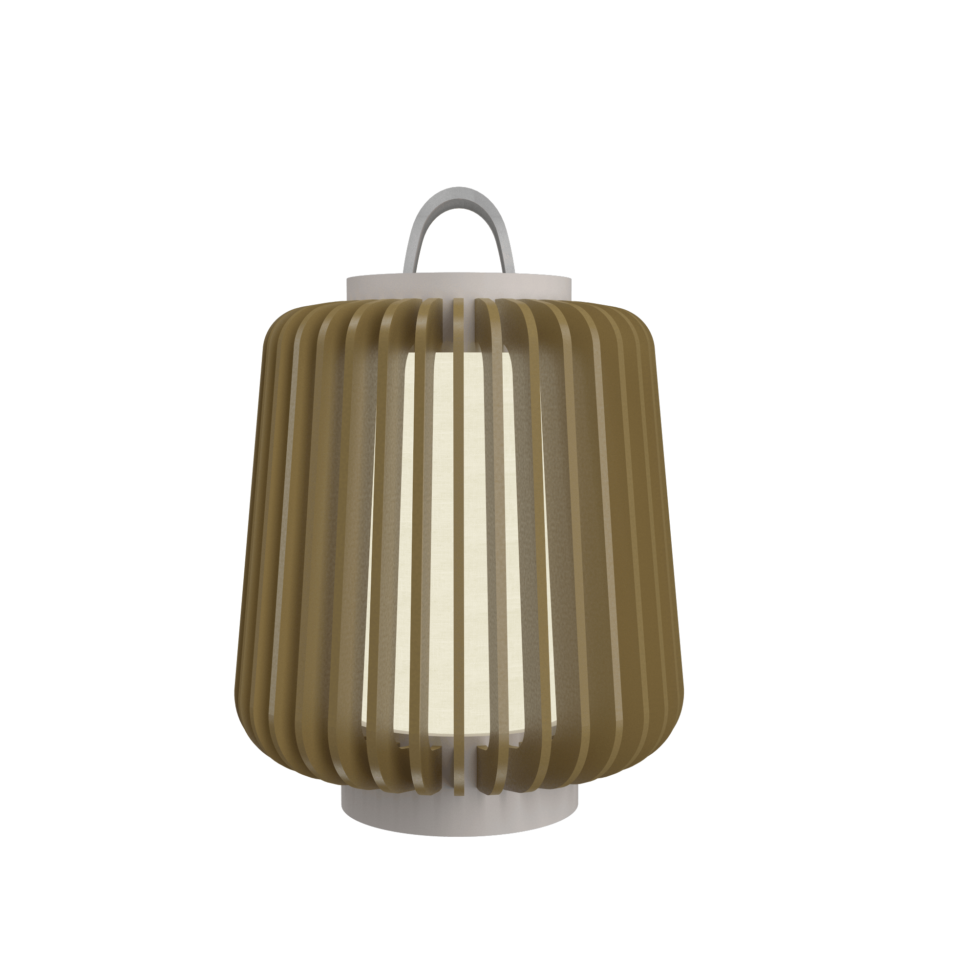 Table Lamp Accord Stecche Di Legno 7059 - Stecche Di Legno Line Accord Lighting | Pale Gold