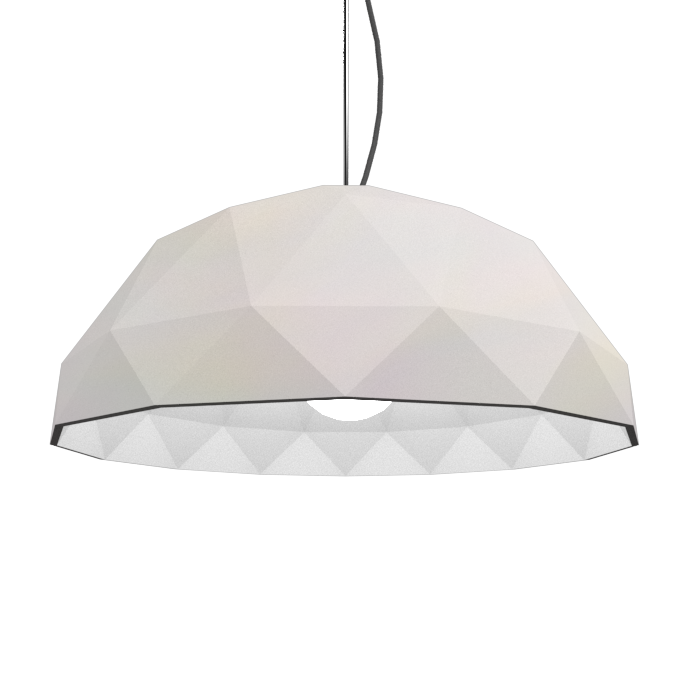Pendant Lamp Accord Facetado 1290 - Facetada Line Accord Lighting | 25. Iredescent White