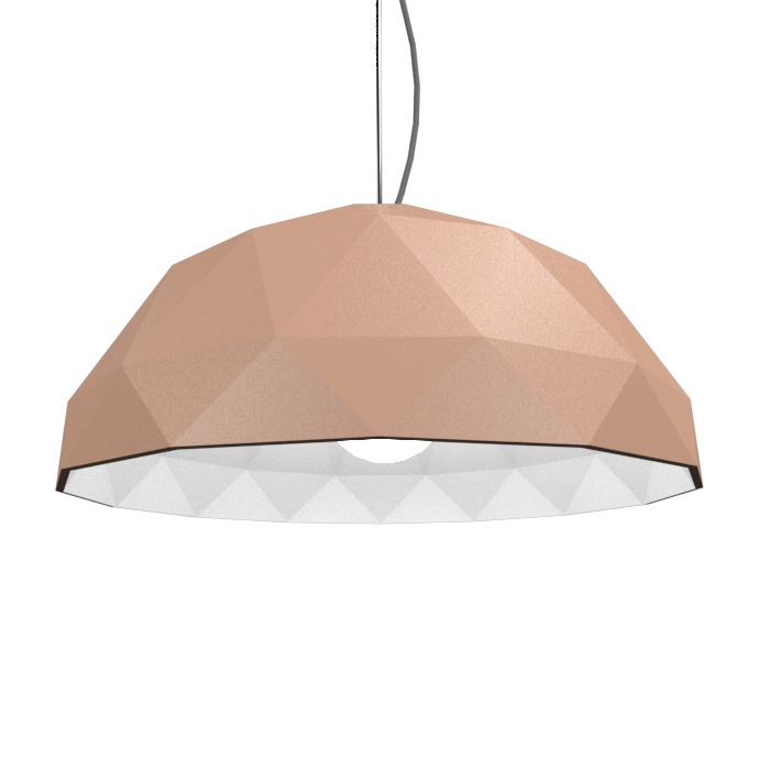 Pendant Lamp Accord Facetado 1290 - Facetada Line Accord Lighting | 33. Bronze
