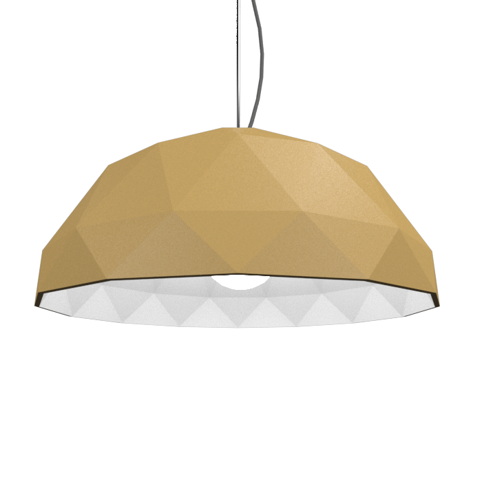 Pendant Lamp Accord Facetado 1290 - Facetada Line Accord Lighting | Pale Gold