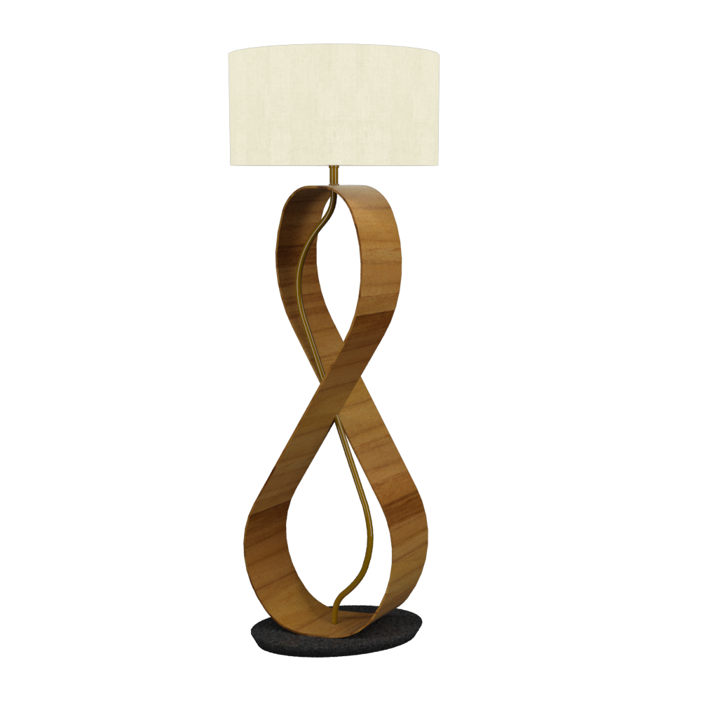 Floor Lamp Infinito 3016 - InfinitoLine Accord Lighting | 12. Teak
