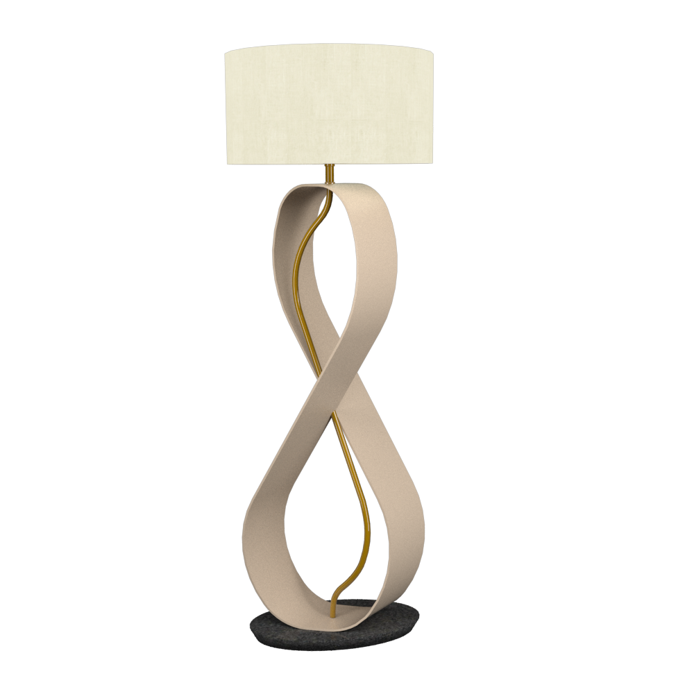 Floor Lamp Infinito 3016 - InfinitoLine Accord Lighting | 15. Cappuccino