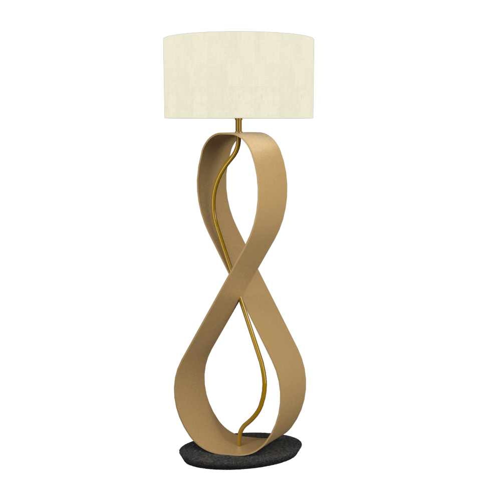 Floor Lamp Infinito 3016 - InfinitoLine Accord Lighting | 27. Gold