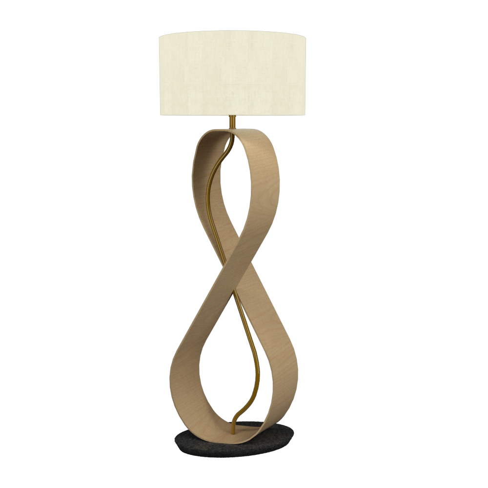 Floor Lamp Infinito 3016 - InfinitoLine Accord Lighting | 34. Maple