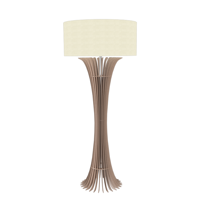 Floor Lamp Accord Stecche Di Legno 363 - Stecche Di Legno Line Accord Lighting | 33. Bronze