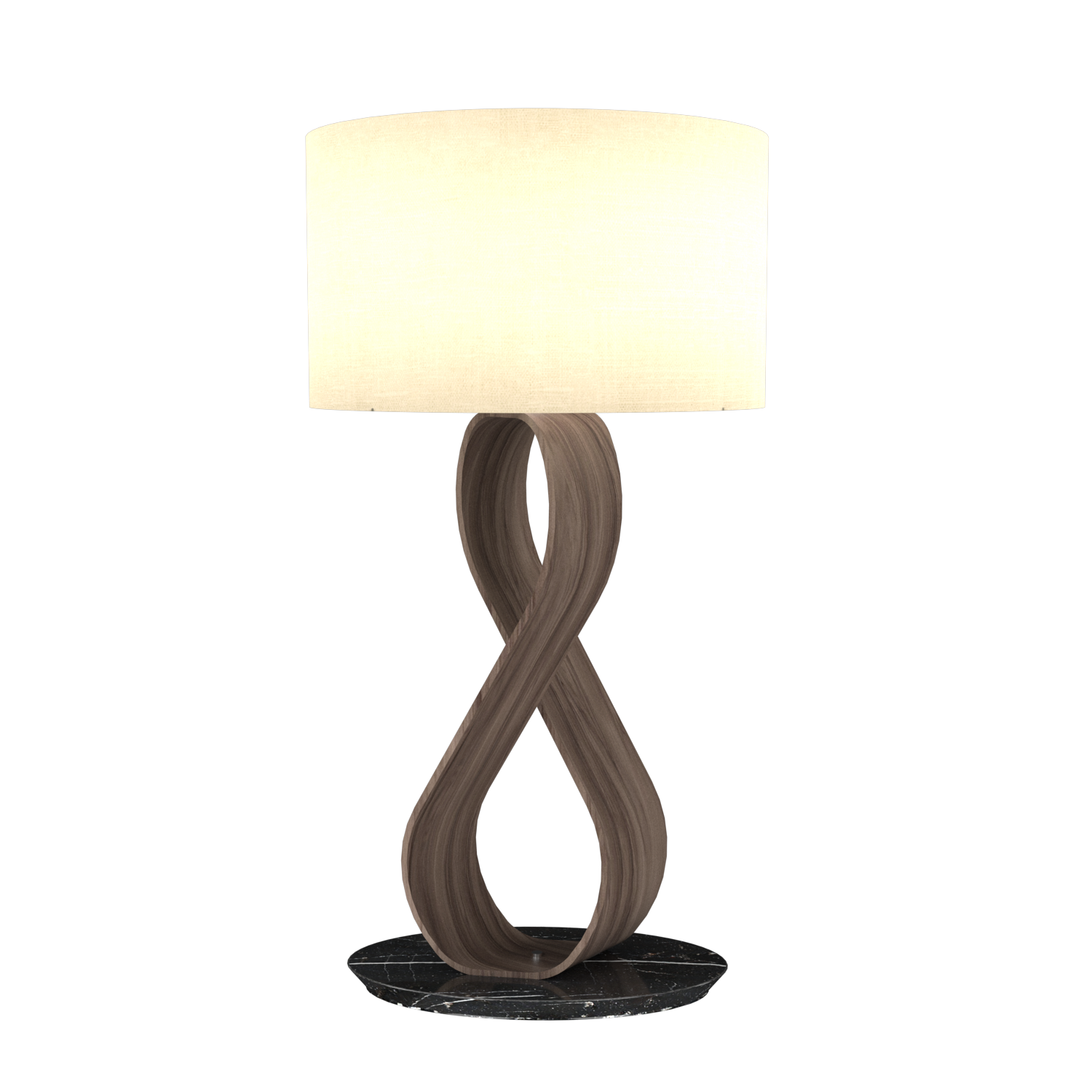 Table Lamp Accord Infinito 7012 - Infinito Line Accord Lighting | 18. American Walnut