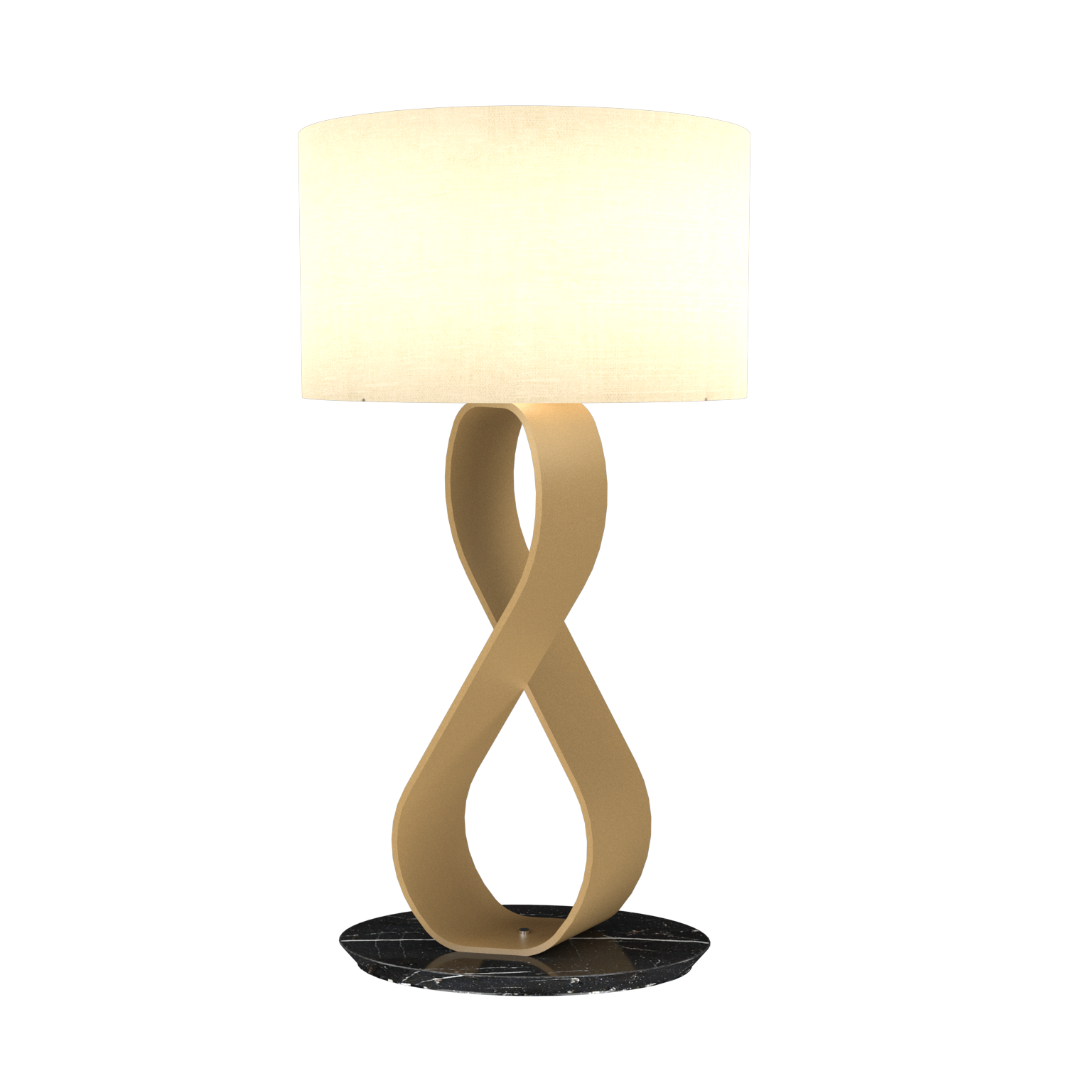 Table Lamp Accord Infinito 7012 - Infinito Line Accord Lighting | 27. Gold