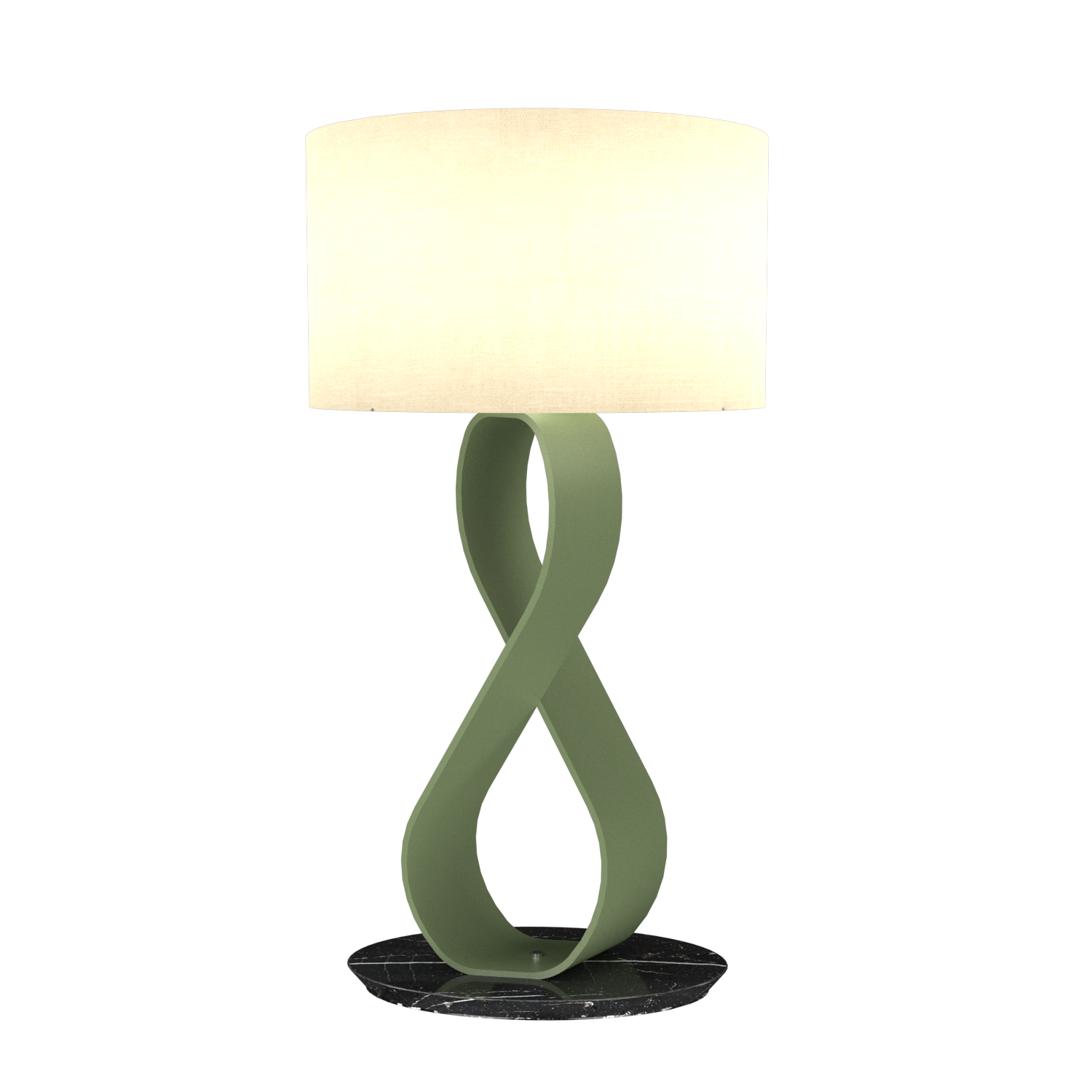 Table Lamp Accord Infinito 7012 - Infinito Line Accord Lighting | 30. Olive Green