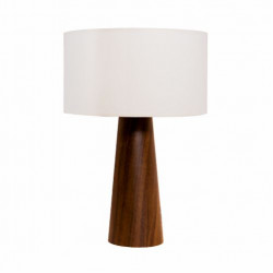 Table Lamp Accord Cônico 7026 Cúpula Linho - Cônica Line Accord Lighting