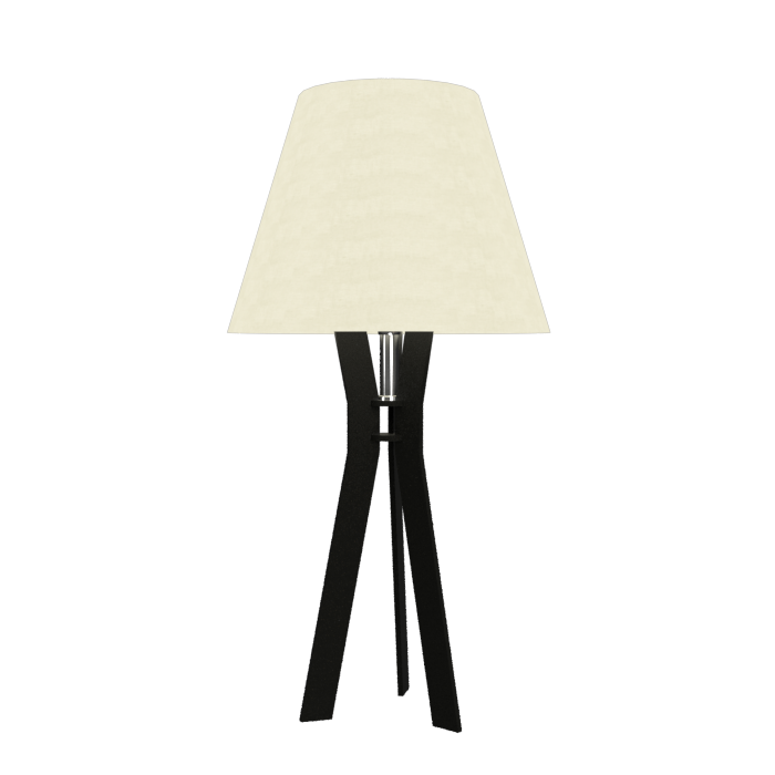 Table Lamp Tripé 7025 Cú Linho Tripéline Accord Lighting