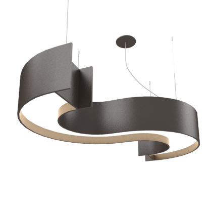 Pendant Lamp Accord Spy 1062 - Orgânica Line Accord Lighting | 02. Matte Black