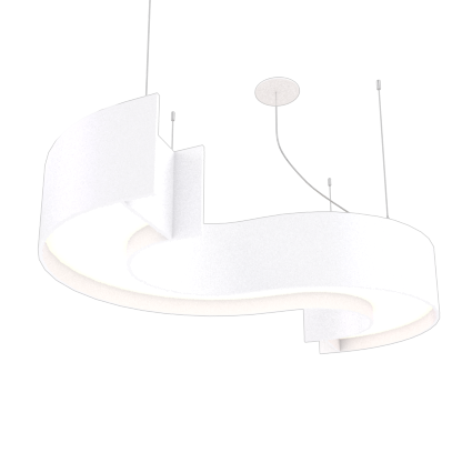 Pendant Lamp Accord Spy 1062 - Orgânica Line Accord Lighting | 07. White