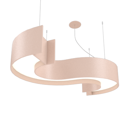 Pendant Lamp Accord Spy 1062 - Orgânica Line Accord Lighting | 15. Cappuccino